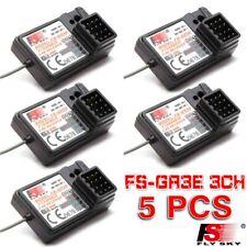 5 PCS Flysky FS-GR3E AFHDS 2.4G 3CH Receiver for GT3B GT2 GT3C Transmitter NEW