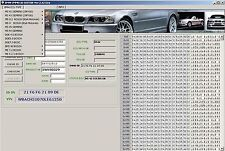 BMW IMMO ID Editor PIN Extractor Virginize Clear Vin Serial ECU Immobilizer