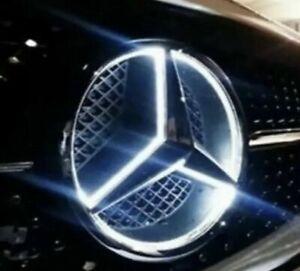 2015-2018 Mercedes Benz Front Star LED Emblem White Light Deep Dish GLC GLE GLS