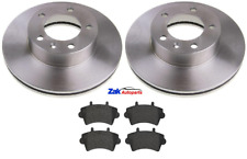 FOR RENAULT MASTER 2.5 3.0 DCi (2000-2010) FRONT 2 BRAKE DISCS & PADS SET NEW