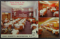 Duke Zeibert Restaurant Washington DC Postcard