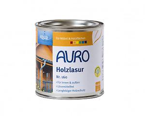 AURO Holzlasur Aqua Nr. 160 - 0,375 L