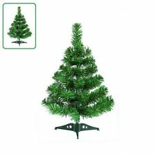 Small Mini Table Top Christmas Tree XMAS 45cm Green DECOR  NEW HOT GREEN UQ