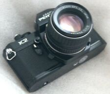 Pentax K2 noir 1.4 / 50 testé TBE ( black , checked near mint )