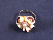 "Unusual 1"" Shells Styled Adjustable Ring"