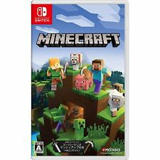 Microsoft Minecraft Switch Edition NINTENDO SWITCH JAPANESE IMPORT REGION FREE