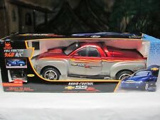 BIG New Bright 1/6 Chevy SSR R/C Truck Burgundy/Silver Cool Lowrider Collectible