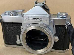 Nikon Nikomat FTN 35mm Film Camera Body in Working Conditions