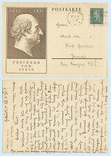 Germany 1931 8 pf Freiherr von Stein Postal Stationery Postal Card H&G 196