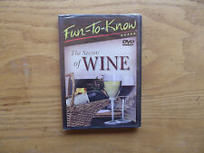 Fun-To-Know - The Secrets of Wine (DVD, 2005) New