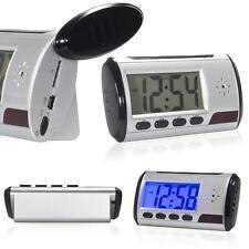 Mini HD Spy DVR Hidden Camera Alarm Clock Motion Detection DV Video Recorder Cam