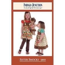 "INDYGO JUNCTION ""SISTER SMOCKS"" Sewing Pattern"