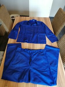 Arbeitshose + Arbeitsjacke, dunkelblau, Gr. 52
