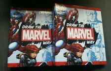 Hachette Partworks Draw The Marvel Way 1-28 + 2 binders