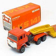 Arpra Supermini Brazil - Scania LKS 141 Truck and Low Loader Trailer - 1:50 Rare