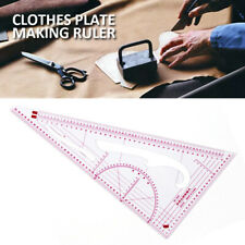 New Clothing Drawing Plate Making Ruler Triangle Tailor Sewing Patchwork Tool