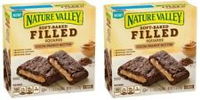 Nature Valley Soft Baked Filled Squares Cocoa Peanut Butter 2 Box Pack