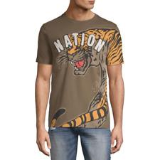 Parish Nation Tiger Nation Patch T Shirt Mens Size XL New
