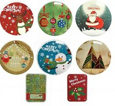 Christmas Xmas Triple 3 Tin Metal Box Kitchen Storage Container Cookie Sweet