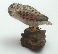 magnifique hibou en bois ,hibous, chouette, owl, uil   **S10-37