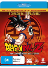 DRAGON BALL Z - COLLECTION uncut (15 movies) -  Blu Ray - Sealed Region B