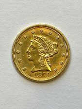 1873 $2.5 Liberty Gold Coin.! Uncertified.