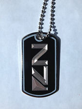 Mass Effect N7 Dog Tag Necklace