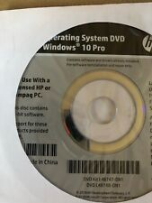 64bit Operating System Windows 10 DVD Restore Repair Install For HP Computers