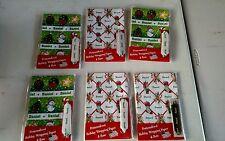 Personalized gift wrap wrapping Christmas xmas NIP Daniel 6 Sheets