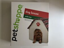 *NEW* PET SHOPPE Collapsible Indoor Dog House With Toy