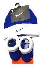 7b3790c691d Nike Baby BOOTIES Beanie Hat Set 0-6 Months Cotton Gift Boy Girl Shoes  Newborn