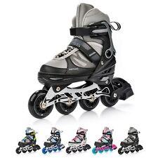 Inline Skates Kinder Rollschuhe ABEC7 Einstellbare Größe 29-43 Junge meteor