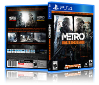 Metro Redux - ReplacementPS4 Cover and Case. NO GAME!!