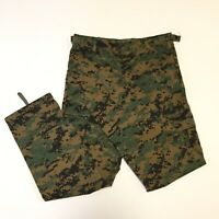 Rothco BDU Camo Pants Kid Youth Size M Adjustable Waist Military Hunting Camping