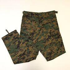 Rothco BDU Camo Pants Kid Youth Size M Adjustable Waist Military Hunting Camping