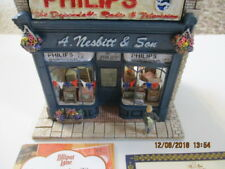 Lilliput Lane Moments In Time Our First Telly Philips Nesbitt & Son Shop 1998