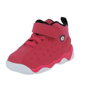 Nike Air Jordan Jumpman Team II TD AQ2795 Toddlers Shoes Sneakers Pink Leather