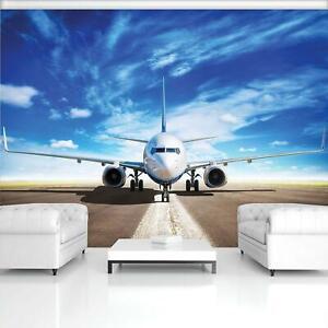 FOTOTAPETE Tapete WANDBILDER XXL 15F0221520 Flugzeug Transport