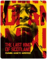 Last King Of Scotland Limited Edition Steelbook BLU-RAY *NEW & SEALED*