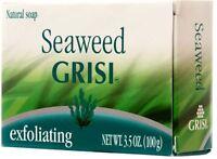 Grisi Natural Seaweed Soap, 3.5 oz (Pack of 2)