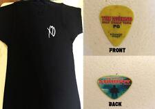The Weeknd_ 2027 World Tour _ T Shirt  XL  (Black) + Guitar Pick (yellow)