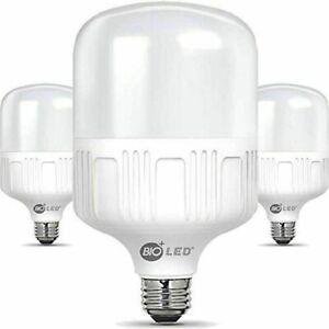 Bioled 20W LED Light Bulbs, E26, Daylight(5000K) 200 Watt Equivalent 3 PACK NEW