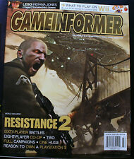 GAMEINFORMER MAGAZINE, ISSUE 178, COMPUTER VIDEO GAME,FEBRUARY 2008,RESISTANCE 2