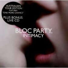 Bloc party-Intimacy + LIVE-CD 2cd NEUF