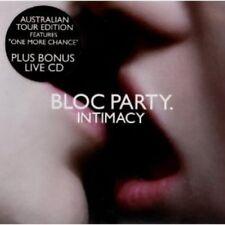 Bloc Party - Intimacy + Live-CD 2CD NEU