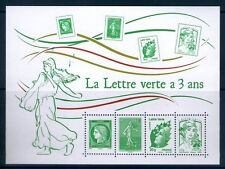 TIMBRES 4908-4909, 4774 ET 4593 NEUF XX LUXE - LA LETTRE VERTE A TROIS ANS