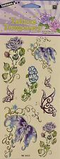 Temporary Tattoos - Roses and Butterflies