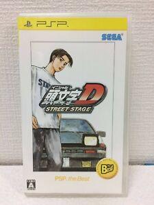Sony Initial D STREET STAGE PSP the Best SEGA