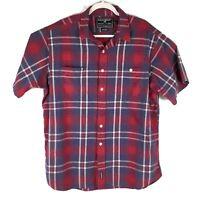 Polo Sport Ralph Lauren Button Front Down Multicolor Plaid Flannel Shirt Mens XL