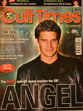 CULT TIMES EDITION 52 - Angel - Buffy - Star Trek Voyager - Earth - CT40